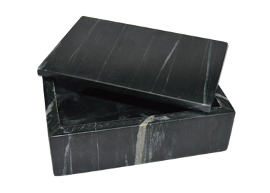 Black Marble Rectangle Box