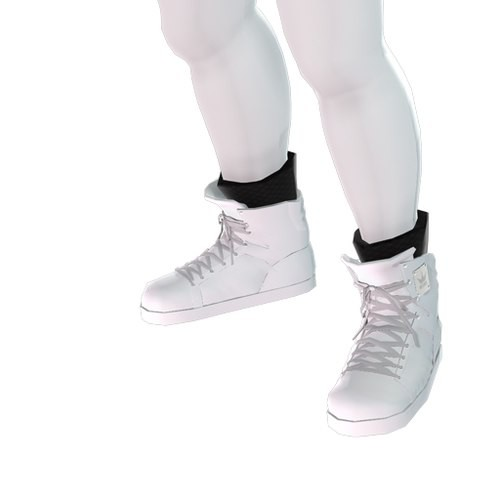 Konsole Kingz - Icey White KTR1s - High Top Shoe