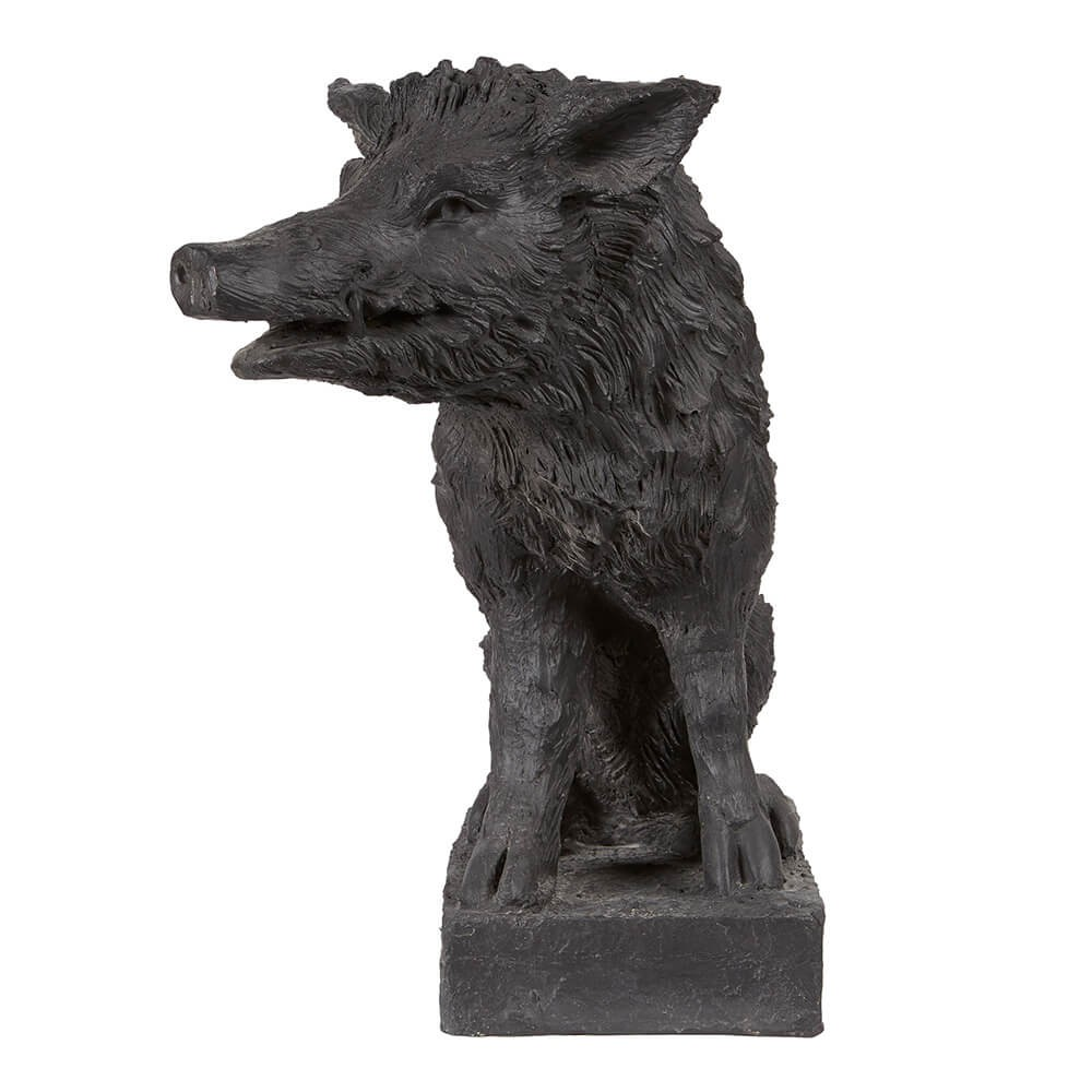 Black Plaster Boar