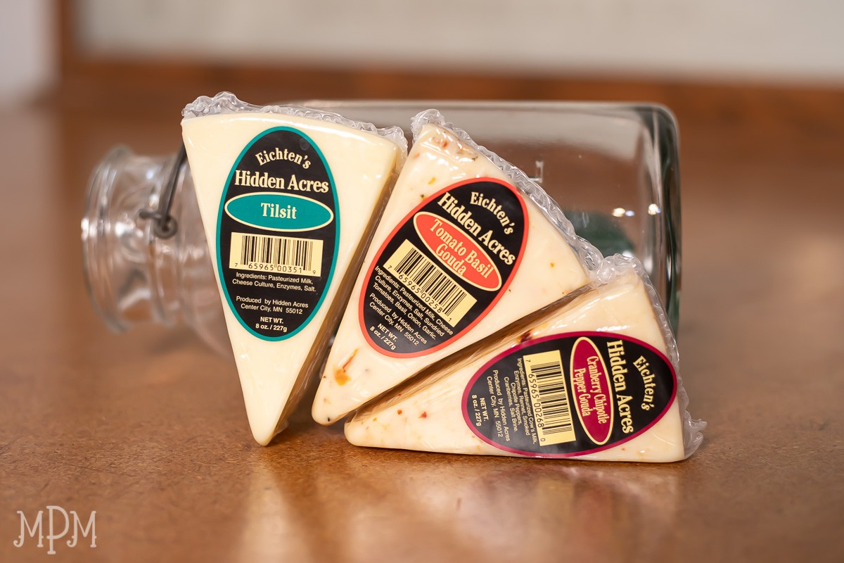 Getting cheesy in Winslow. A trio of new cheese at the Merc