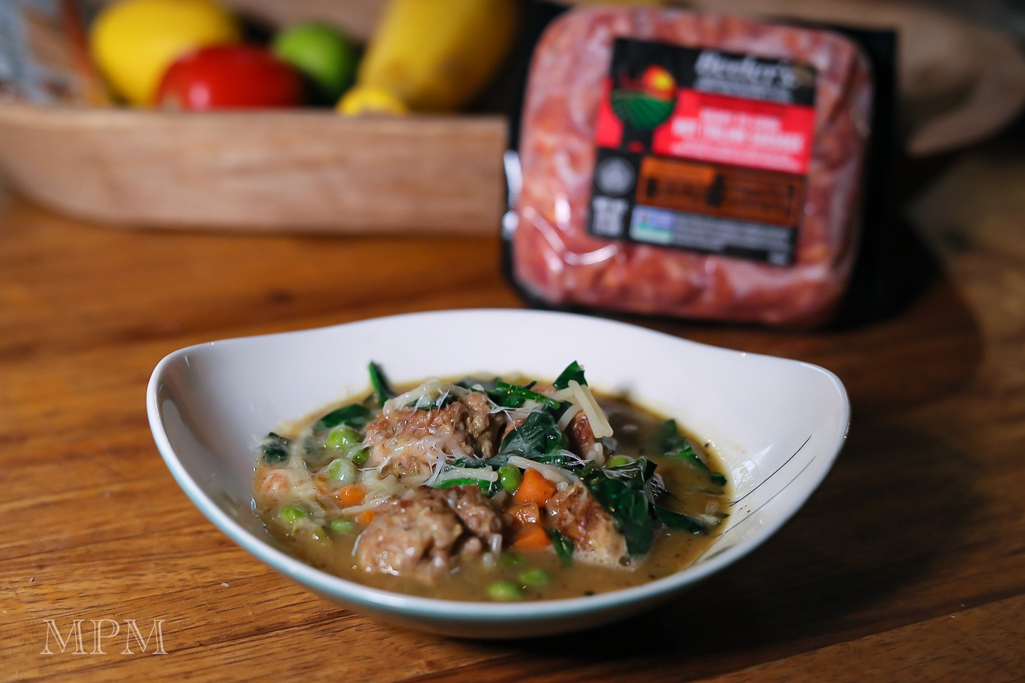 Italian Wedding Soup with Beeler's Hot Italian Sausage