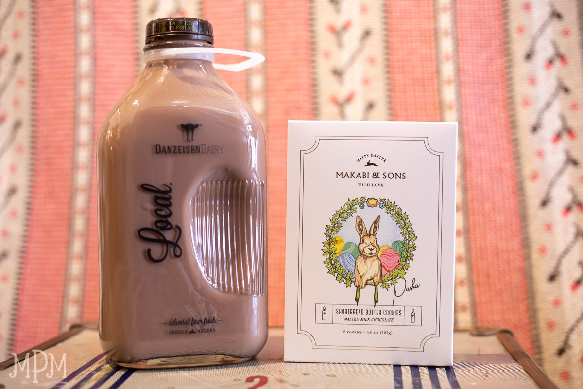 Hopping into Easter at the MPM with Danzeisen Chocolate Milk and Makabi & Sons special shortbread